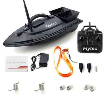 Flytec 2011-5 Fishing Tool Smart RC Bait Boat Toys Dual Motor Fish Finder Ship Boat Remote Control 500m Fishing Boats SpeedboatA