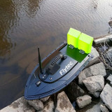 Flytec 2011-5 Fishing Tool Smart RC Bait Boat Toys Dual Motor Fish Finder Ship Boat Remote Control 500m Fishing Boats SpeedboatA