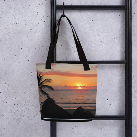 Island Sunset - Tote Bag