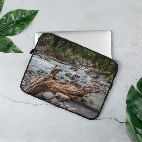 River Wood - Laptop Sleeve