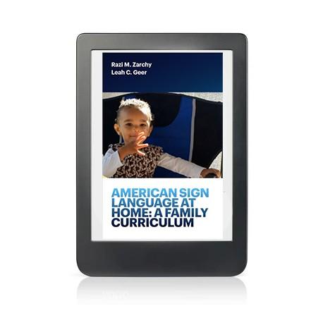 ASL at Home Curriculum: EPUB Digital Download