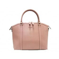 Gucci Women's Microguccissima Light Pink GG Calf Leather Dome Handbag 449658