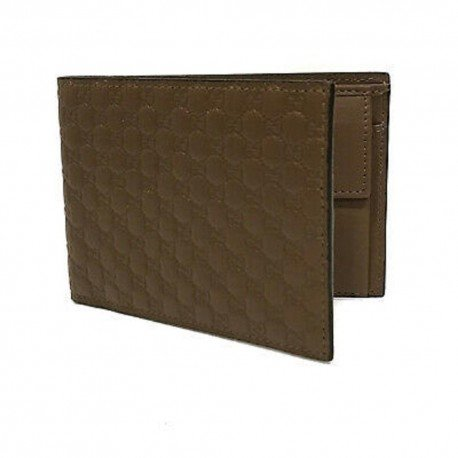 Gucci Men's Microguccissima GG Logo Margaux Light Brown Card Case 544474 Wallet