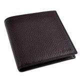 Gucci Mens Dark Brown Bifold Cadon Dollar Calf Wallet 260987