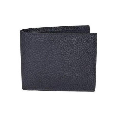 Gucci Mens Navy Blue Bifold Cadon Dollar Calf Leather Wallet 260987