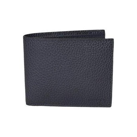 Gucci Mens Navy Blue Bifold Cadon Dollar Calf Leather Wallet 260987