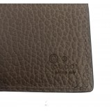 Gucci Mens Light Brown Cadon Dollar Calf Leather Wallet 260987