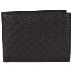 Gucci Mens Microguccissima T. Moro Brown Leather Bifold Wallet 278596