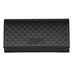 Gucci Women's Brown T. Moro Microguccissima Leather Continental Flap Wallet 449396
