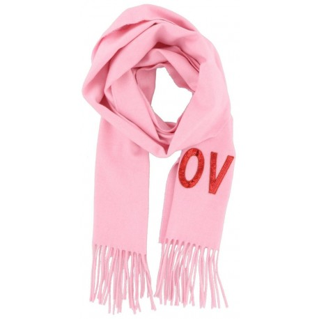 Gucci Women's Love Pink Cashmere Scarf 481318