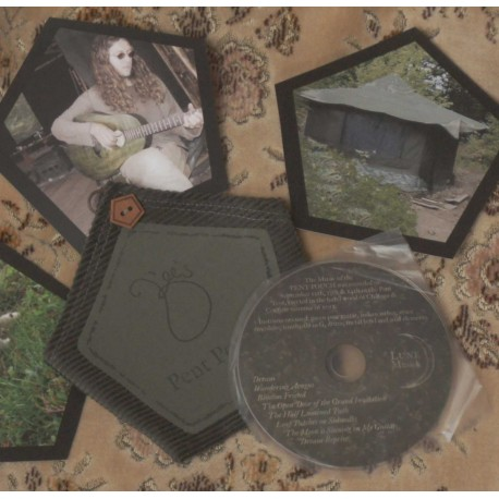 B'ee's Pent Pouch CD in cloth
