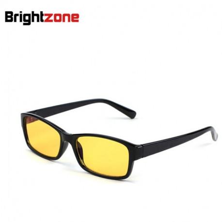 Men Women Anti-Radiation/UV/Fatigue/Blue Light Blocking Computer/Gaming Eye Glasses Yellow Indoor Digital Eyewear