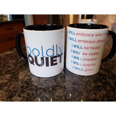 Boldly Quiet Manifesto Mug