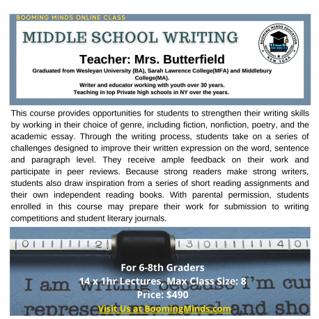 Middle School Writing