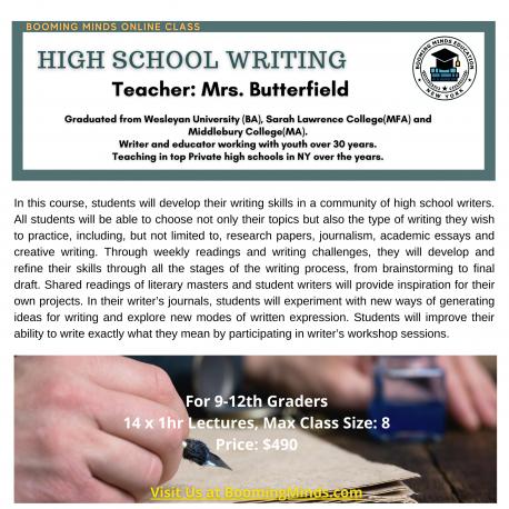 High School Writing