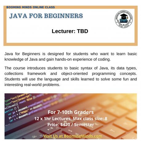 Java for Beginner