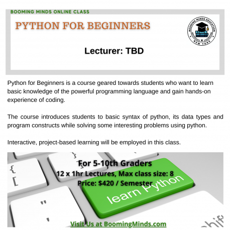 Python for Beginner