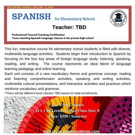 Spanish for Elementary School