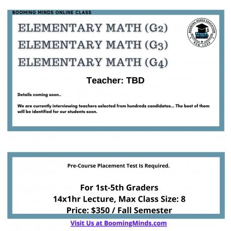 Elementary Math G4