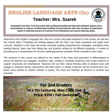 English Language Art (G2)