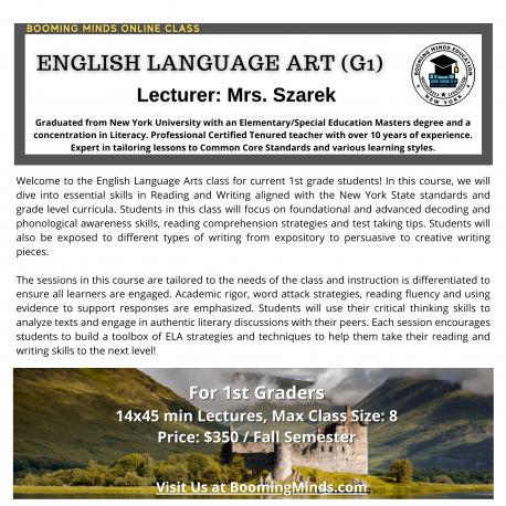 English Language Art (G1)