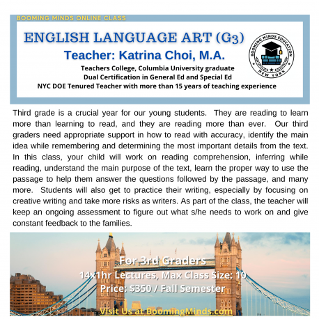 English Language Art (G3)