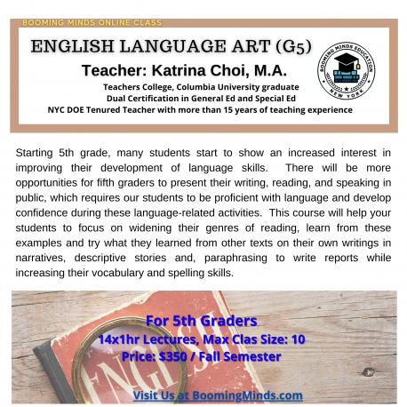 English Language Art (G5)
