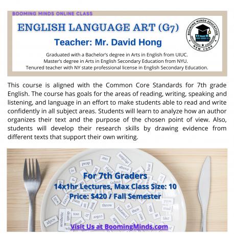 English Language Art G7