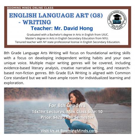 English Language Art G8 Writing
