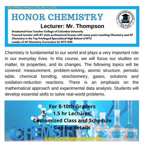Honor Chemistry