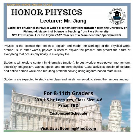 Honor Physics