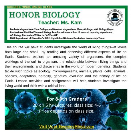 Honor Biology