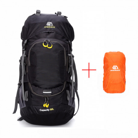 Outdoor Backpack With Light Reflection