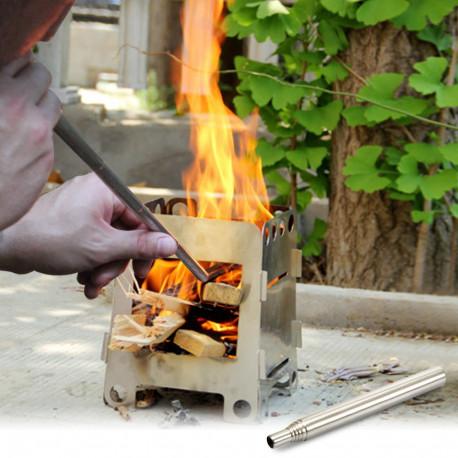 Mini Stove Fire Tool