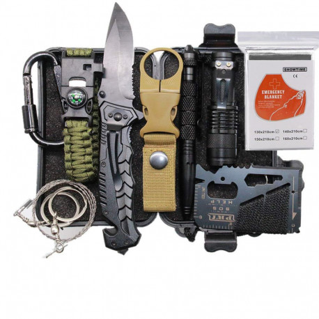Camping Survival Kit Set