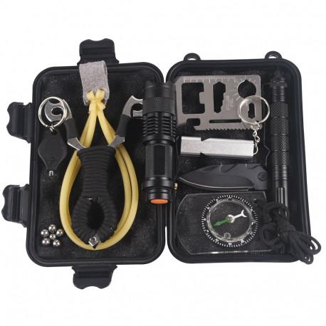 10 in 1 Tactical+slingshot survival gear