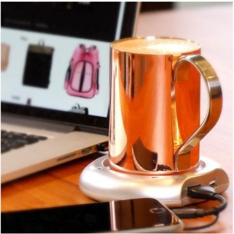 USB POWERED COFFEE WARMER