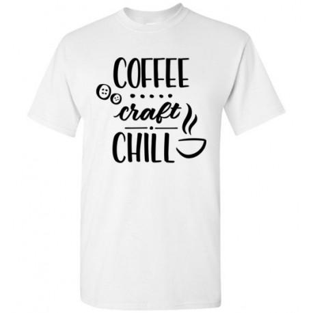 Coffee Craft Chill - Gildan Short-Sleeve T-Shirt