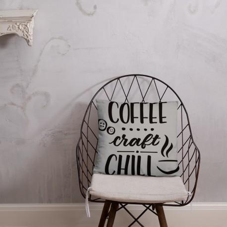Coffee Craft Chill - Basic Pillow