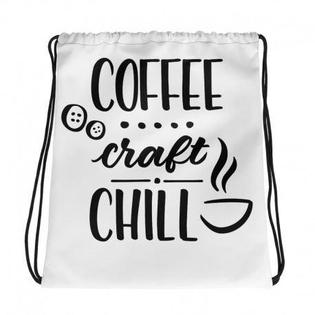 Coffee Craft Chill - Drawstring bag