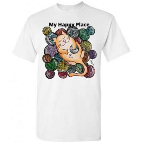 My Happy Place - Gildan Short-Sleeve T-Shirt