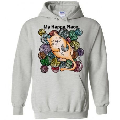 My Happy Place - Gildan Heavy Blend Hoodie