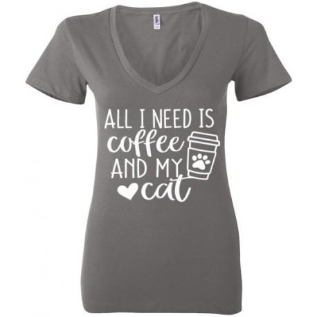 All I need is Coffee - Ladies tee
