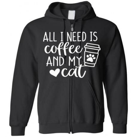 All I need is Coffee - unisex Hoodie