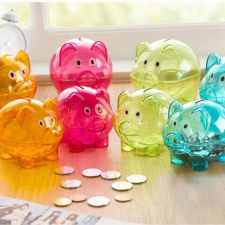 Cartoon Pig Shaped Piggy Bank for Kids