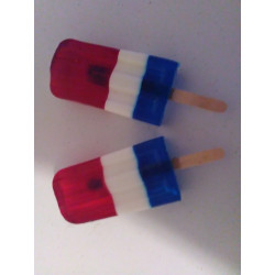 Patriotic Soap Popsicle