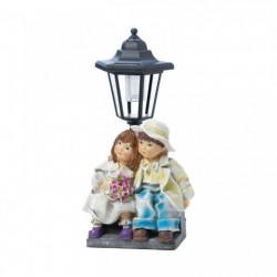 Boy and Girl Solar Garden Light