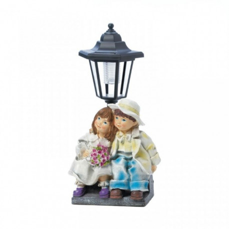 Boy and Girl Solar Garden Light
