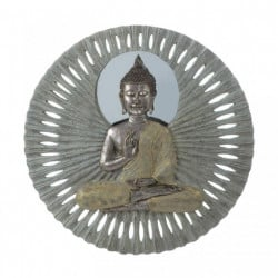 Buddha 23-inch Circular Wall Decor