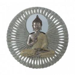 Buddha 23-inch Circular Wall Decor